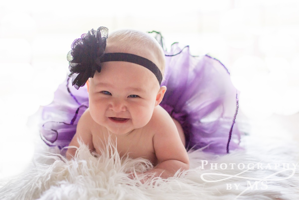 Lily [4 Months] | Central Illinois Child Photography